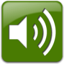 green audio icon